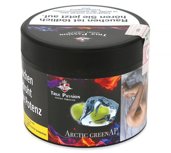 True Passion Arctic Green Ap Shisha Tabak 200g