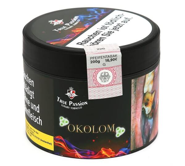 True Passion Okolom Shisha Tabak 200g