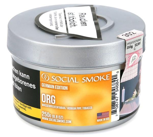 Social Smoke Org Shisha Tabak 250g
