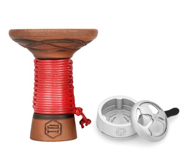SET: Japona Mummy Bowl Red + Kaloud Lotus I+ HMD