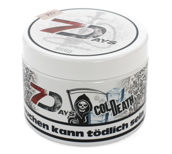 7Days Cold Death Shisha Tabak 200g