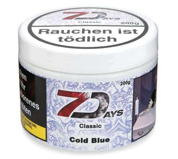 7Days Cold Blue Shisha Tabak 200g
