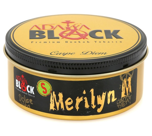 Adalya Black - Merilyn M Strong Shisha Tabak 200g