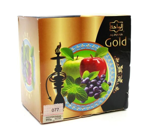 Al Waha Gold Blue Wave Shisha Tabak 200g