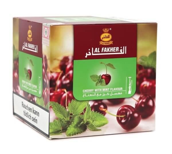 Al Fakher Kirsche minze Shisha Tabak 1kg