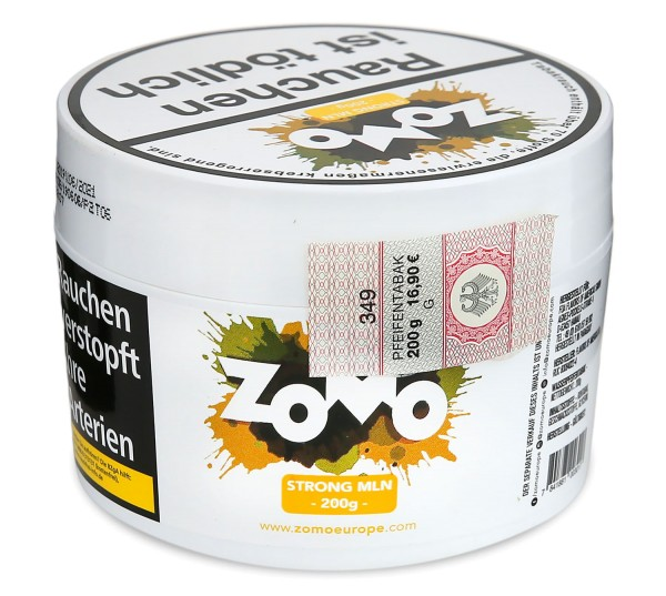 Zomo Strong Mln Shisha Tabak 200g