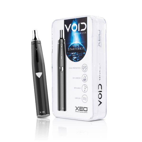XEO VOID E Shisha Vaporizer Starter Kit Gun Metal