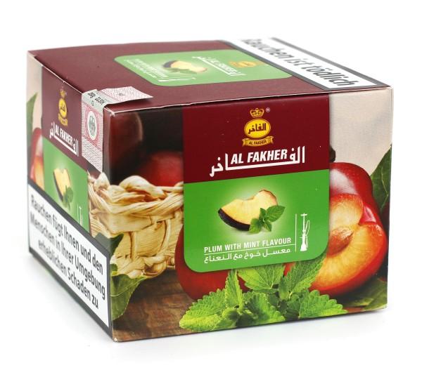 Al Fakher Pflaume Minze Shisha Tabak 200g