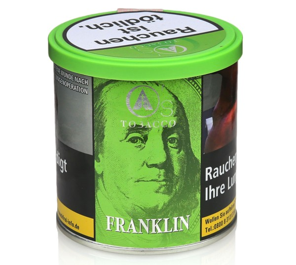 O's Tobacco Franklin Shisha Tabak 200g