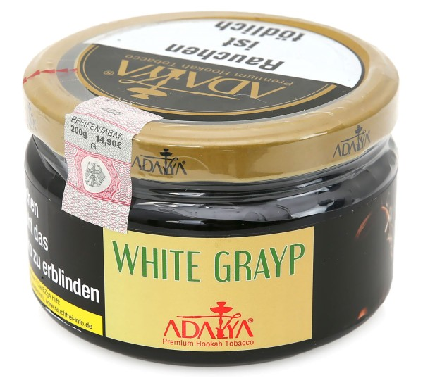 Adalya White Grape Shisha Tabak 200g