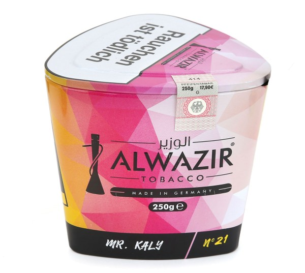 Alwazir No. 21 Mr. Kaly Shisha Tabak 250g