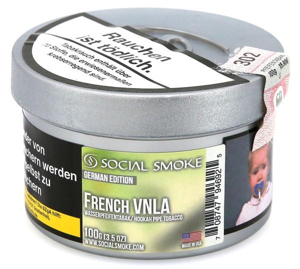 Social Smoke French Vanilla Shisha Tabak 100g