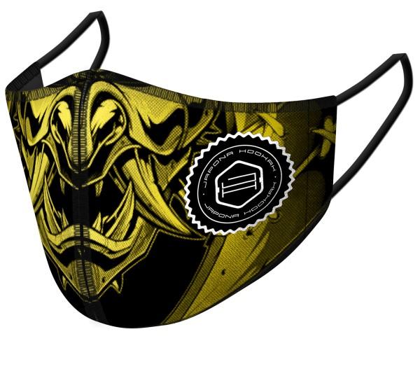 Japona Hookah Mask Gold&Black S