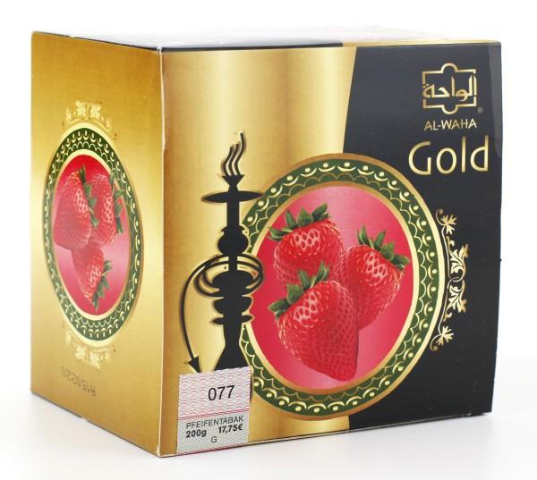 Al Waha Gold Erdbeere Shisha Tabak 200g