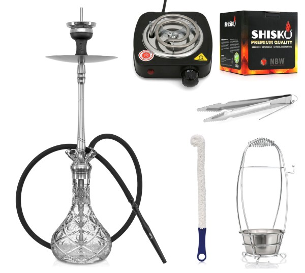Shisha Set Aladin MVP 670 Model 3 Dot