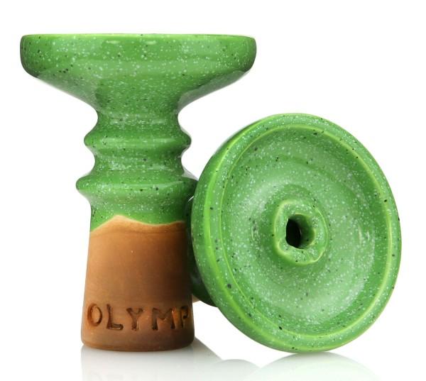 Olymp Hookah Bowl - Green Meadow
