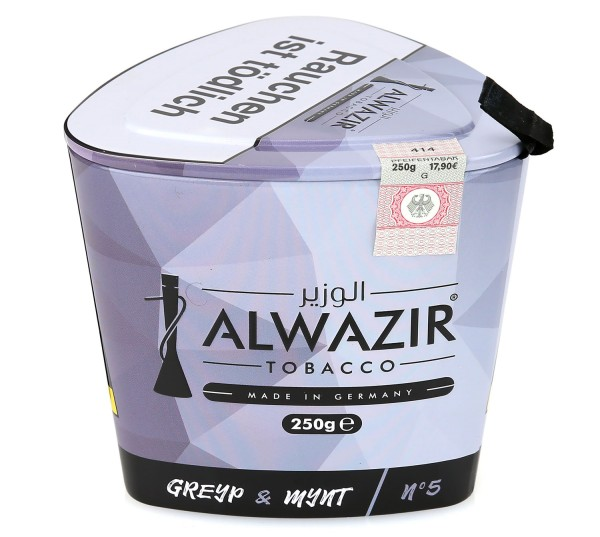 Alwazir No. 5 Greyp & Mynt Shisha Tabak 250g