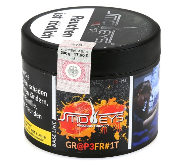 Smokeys Grapefruit Shisha Tabak 200g