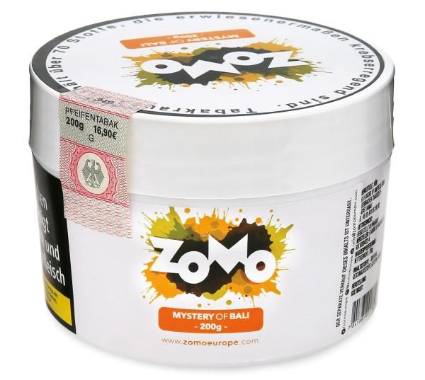 Zomo Mystery of Bali Shisha Tabak 200g