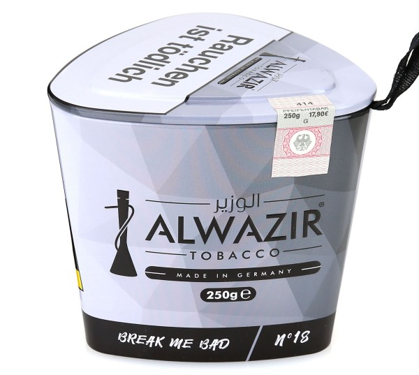 Alwazir No. 18 Break Me Bad Shisha Tabak 250g