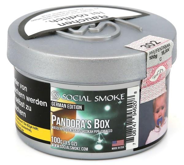 Social Smoke Pandora`s Box Shisha Tabak 100g