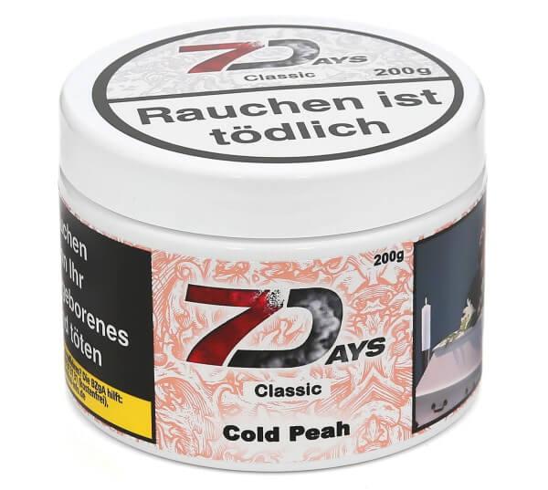 7Days Cold Peah (Cold Peach) Shisha Tabak 200g