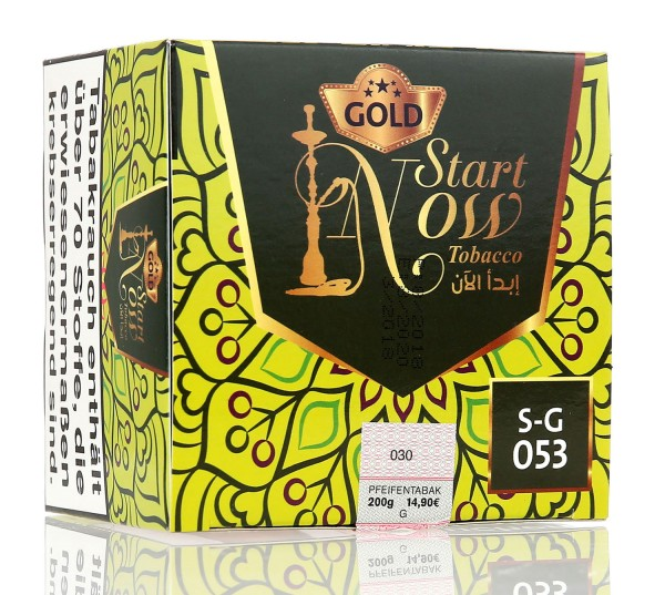 Start Now Gold Gropez Shisha Tabak 200g