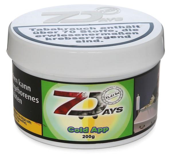 7Days Platin Cold App Shisha Tabak 200g