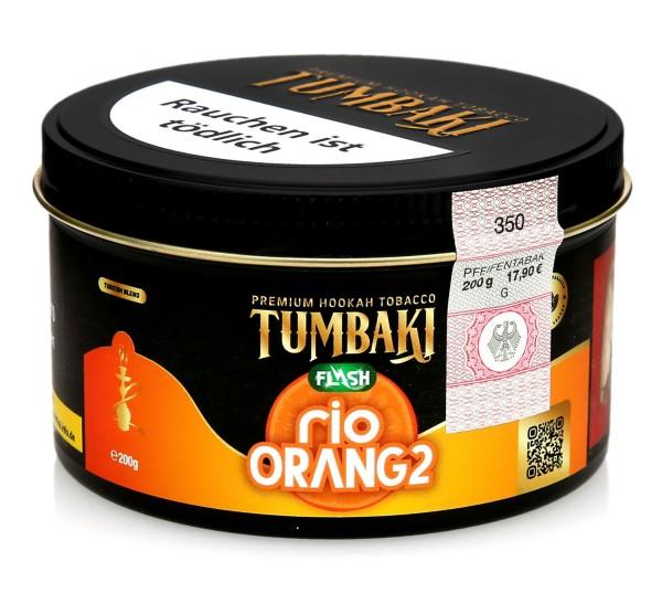 Tumbaki Tobacco - Rio Orang1 Flash 200g