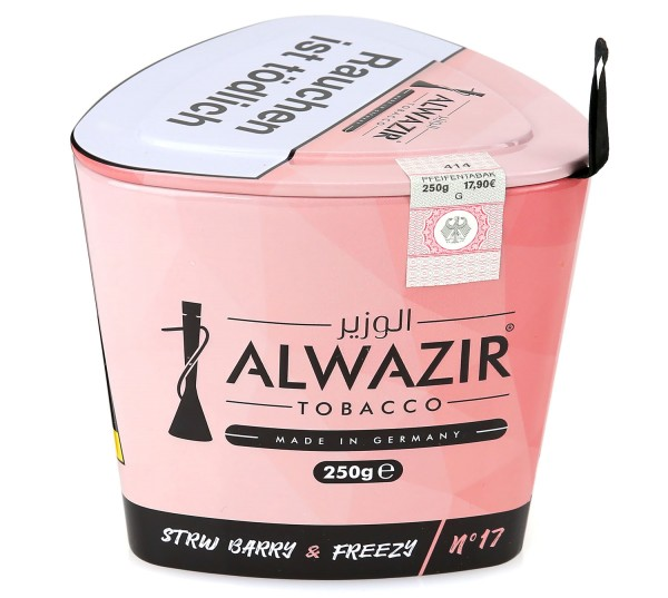 Alwazir No. 17 Strw Barry & Freezy Shisha Tabak 250g