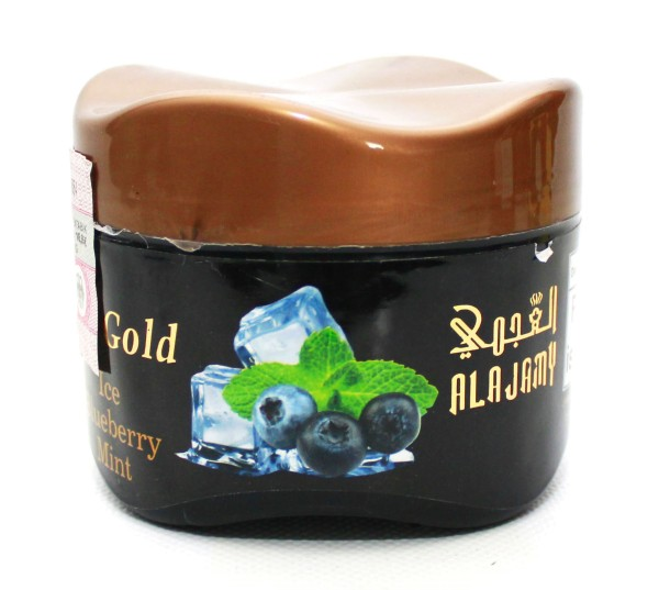 Al Ajamy Gold Ice Blue Mint Shisha Tabak 200g