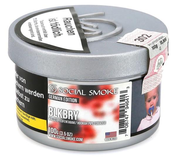 Social Smoke Blackberry Shisha Tabak 100g