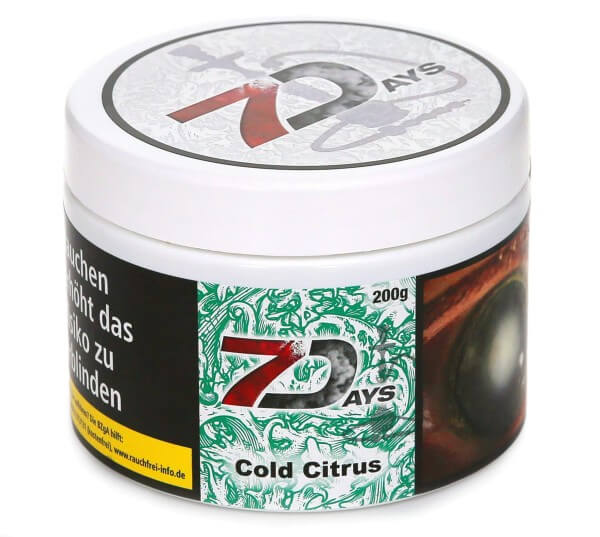 7Days Cold Citrus Shisha Tabak 200g
