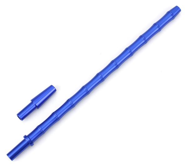 Caesar Bambus Slim Shisha Mundstück Set Blau