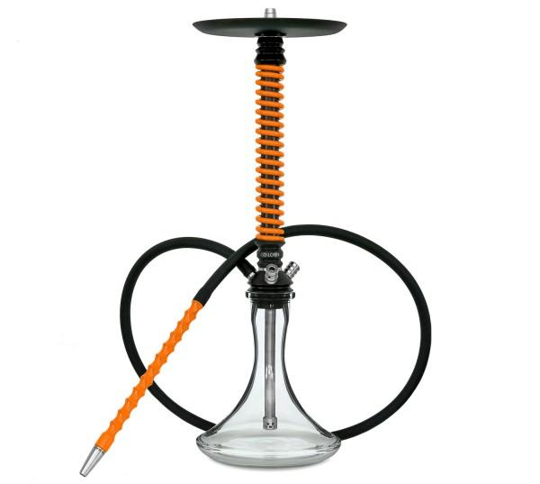 Mamay Customs Coilover Black-Orange Shisha