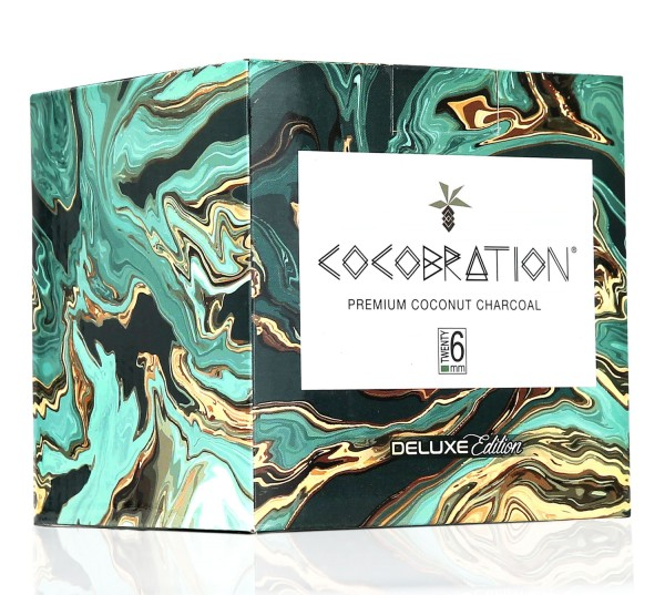 Cocobration Premium Shisha Kohle 1kg 26er