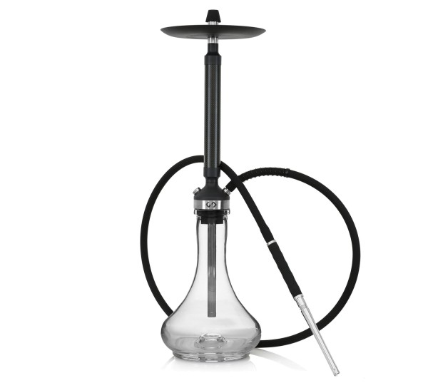 Conceptic Black Carbon Clear Shisha