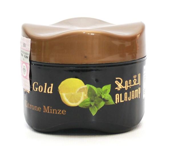 Al Ajamy Gold Zitrone Minze Shisha Tabak 200g