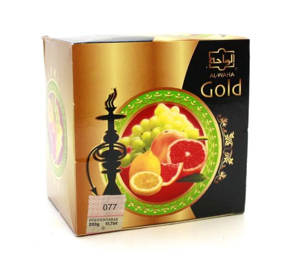 Al Waha Gold 360° Shisha Tabak