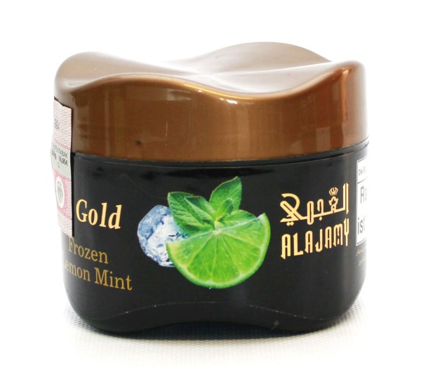 Al Ajamy Gold Frozen Lemon Mint Shisha Tabak 200g