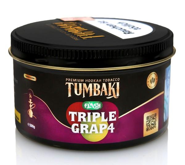 Tumbaki Tobacco - Triple Grap4 Flash 200g