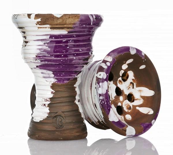 Vintage Syria Shishatabakkopf Purple