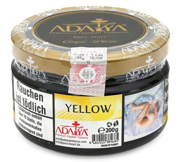 Adalya Yellow Shisha Tabak 200g