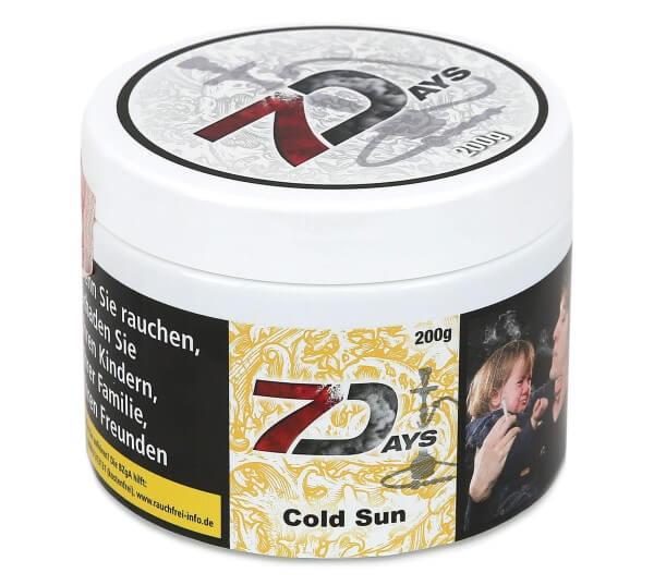 7Days Cold Sun Shisha Tabak 200g