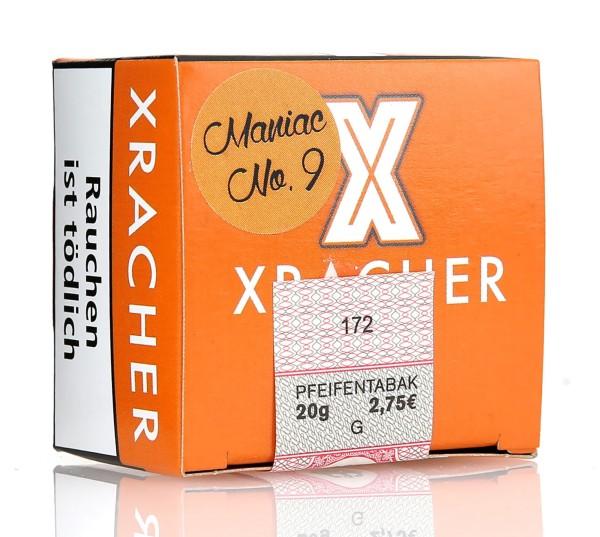 Xracher Maniac No. 9 Shisha Tabak 20g