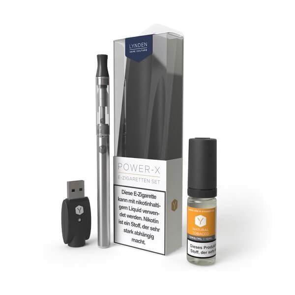LYNDEN Power X Set 12mg (Medium) E-Zigarette Starterset