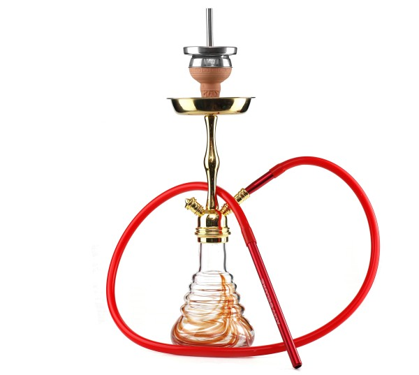 Amy Stillness Shisha Gold Shaft Red Klicksystem HS