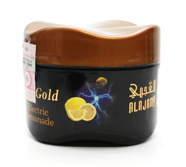 Al Ajamy Gold Electric Lemonade Shisha Tabak 200g