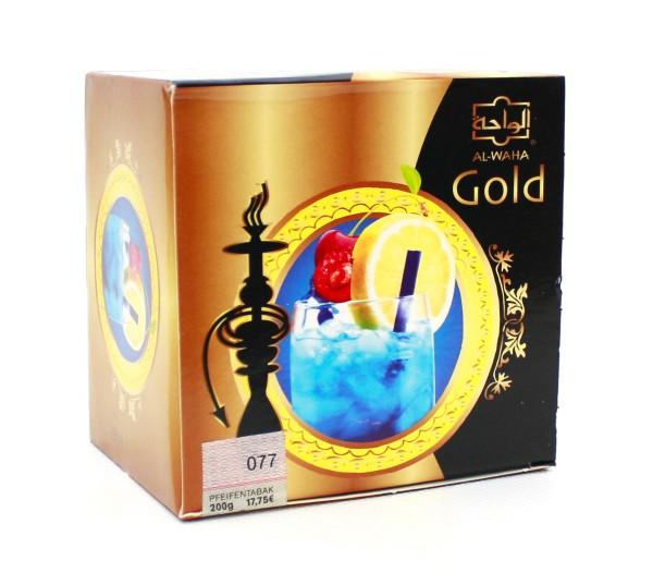 Al Waha Gold Blue Lagoon Shisha Tabak 200g