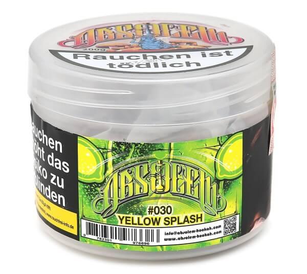 Absolem #030 Yellow Splash Shisha Tabak 200g